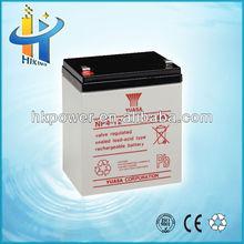 sealed lead acid battery 4v/6v/12v 4ah gel deep cycle battery