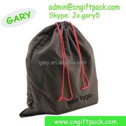 Fabric Handbag Storage Dust Cotton Drawstring Bag with Logo