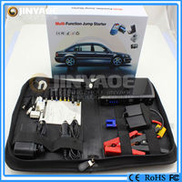 best selling black jump starter with intelligent clamps car battery booster