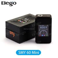 Elego Fast Shipping Original SMY 60 Watt Mini Box Mod SMY Mod Simeiyue