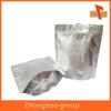 wholesale printing and packaging material custom food grade stand up moisture proof aluminum foil zip lock bag