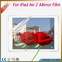 Attractive mirror screen guard/protector/film for ipad air 2