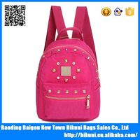 2015 fashion high quality backpack for teens nylon outdoor colorful backpack backpack bag travel