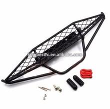 Metal Mesh Wired Front Bumper Black Axial SCX10 1/10 RC Car -kbc0044