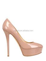 Celebrity Patent Leather Women's Stiletto Heel Platform Pumps Low Price High Heels Shoes