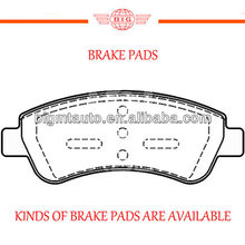 front axle wearever brake pads for CITROEN series saloon cars