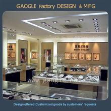 hot sale jewellery shop equipment with led lighting