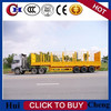 3 Axle 60t Livestock Transport Store House Bar Semi Trailer/Trailer Truck