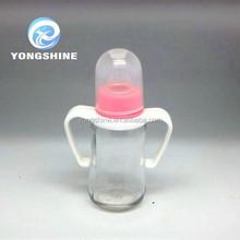 180ml feeding glass bottle , milk glass bottle , baby glass bottle