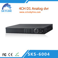 security system full h.264 standalone dvr recorder