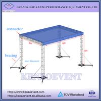 Professional aluminum mini truss booth