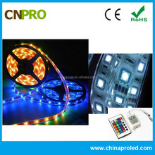 High Quality DC 12V SMD 5050 RGB Waterproof Outdoor LED Strip Lights for Aquarium