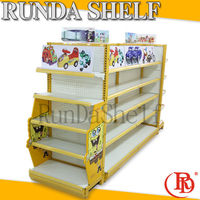 shelving supermarket shelf racks black bread stand textile display rack