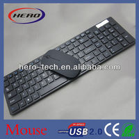 Hot sell super slim keyboard mouse combo