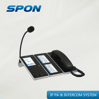 Interphones for IP intercom system and IP PA system