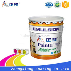 Exterior wall decorative emulsion coatings