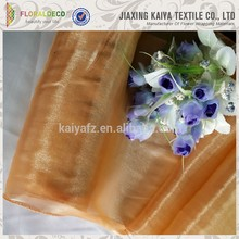 Wholesale soft touch cloth fabric directly silk organza