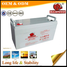 newest lead acid 12v 120ah agm vrla ups/solar battery/solar battery backup systems120ah/high quality 12v deep cycle agm