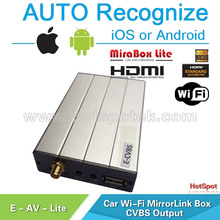 mirror link support car dvd Compatible with ios 9 and Andriod system