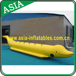 Customzied Inflatable Fly Fish Toy / Fly Fish Banana Boat/Water Games Flyfish