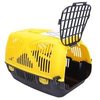 New Product Plastic Portable Dog Carrier Folding Pet Carrier Plastic