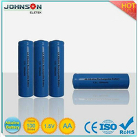 aa 1.5v battery alkaline rechargeable battery lithium iron phosphate