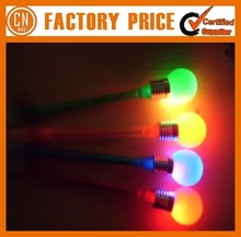 Promotion Logo Custom Plastic LED Light Pen