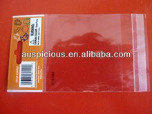 Plastic CPP Bag With Adheasive Stripes