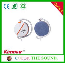 Stereo earphones earhook from china supplier