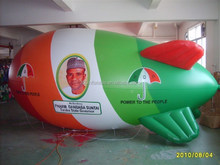 10mL custom colorful inflatable PDP blimp for advertising