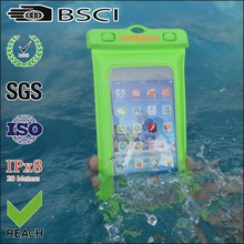 high quality waterproof bag for iphone 4 with ipx8 certificate