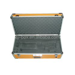 Orange Aluminum Carrying Instrument Case