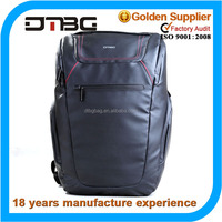 Functional leather laptop bag laptop trolley bag