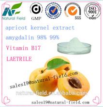 cuidado de la salud suplemento amarga semilla de albaricoque amigdalina vitaminb17 en polvo