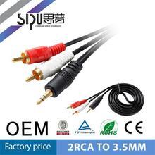 SIPU 3 rca female male japan av hd video game cable 3.5mm jack wireless transmitter