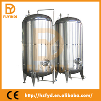 Stainless steel sevice tank bright beer tank round barrel beverage cooler