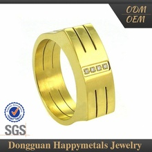 Big Price Drop 2015 New Design Oem Natural Blue Sapphire Gemstone Rings 18K Gold Pron