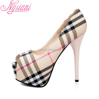 Nysiani 2015 fashion newest lady thin heel designer shoes women famous brands