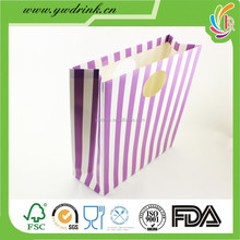 Kraft paper bag Customized Printed hand bag