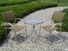 UNT-R-127 garden furniture rattan chair and rattan table
