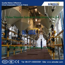 hot sales! cotton seed/groundnut/soya bean/sunflower seed oil palm oil refinery equipment for refinery process