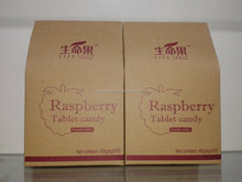 Raspberry Tablet Candy