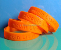 Hot sales fashion silicone wristbands/bracelets for events,silicone rubber bracelet