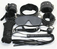 High quality popular halloween fancy game play sex to male bondage set HK8176