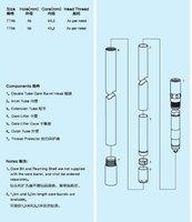 TT series Double Tube Core barrel/drilling tools