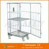 transportation trolley small wire roll cage
