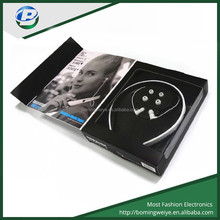 hotsale bluetooth v4.0 mobile phone bluetooth headphone,TF card MP3 bluetooth headset with fm