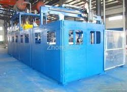 Sunmine Branded Four-station Refrigerator vacuum plastic forming machine for door inner liner