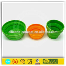 collapsible bucket hot selling silicone folding bucket