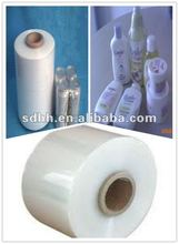 eco-friendly packing pof shrink film with the type of center folded